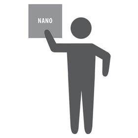 PackTowl Nano - Serviette de bain - gris